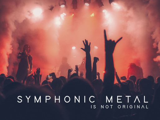 Symphonic metal is not original