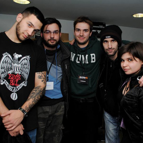 First major gig in Belgrade Serbia BARF