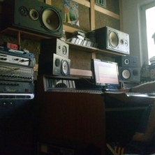 Very first mix in the studio of our debu