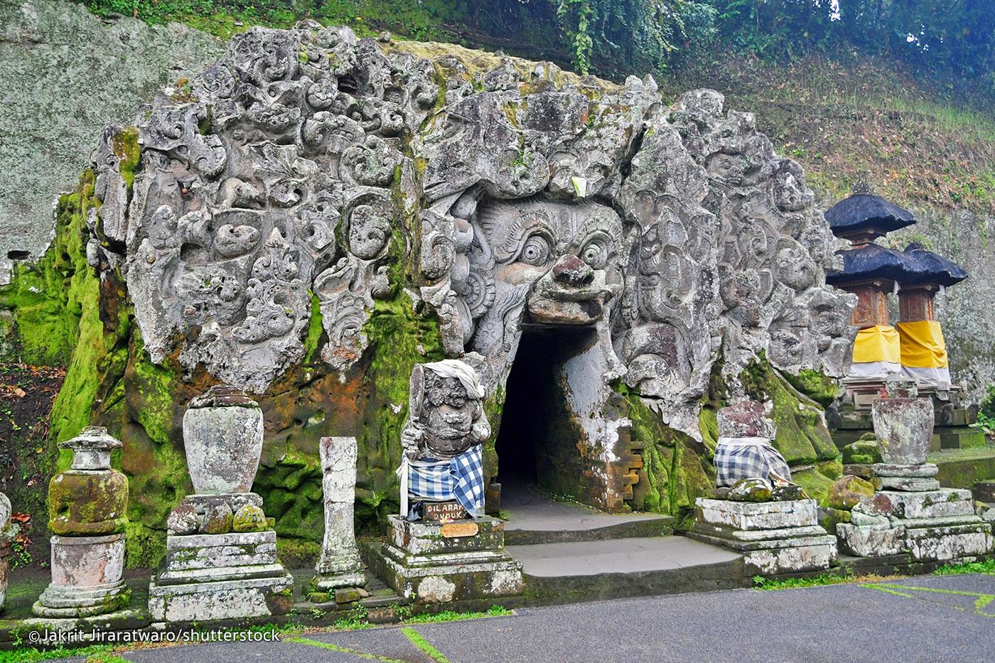 The elephant temple