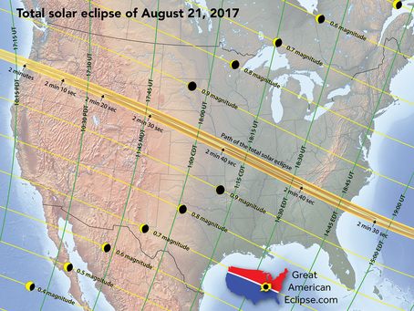 Chasing the Great American Solar Eclipse