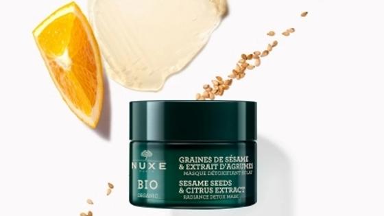 Nuxe BIO Organic Sesame Seeds & Citrus Extract Radiance Detox Mask 50ml