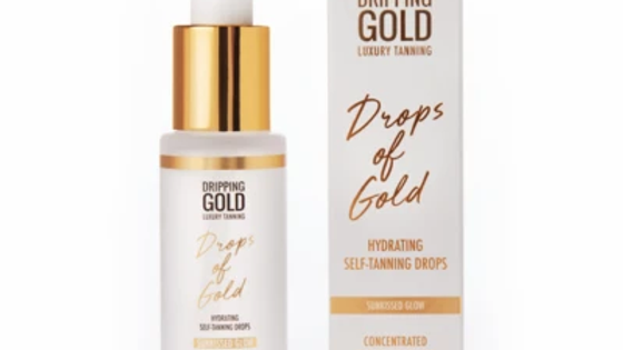 SoSu by Suzanne Jackson Drops of Gold Hydrating Self Tanning Drops Face 30ml