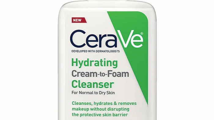CeraVe Hydrating Cream-to-Foam Cleanser 236mls