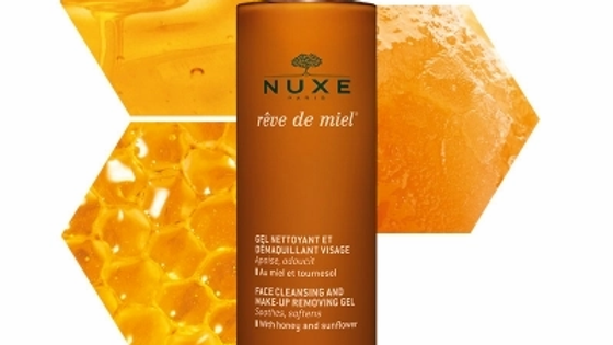 Nuxe Reve De Miel Face Cleansing & Make-Up Removing Gel 200ml