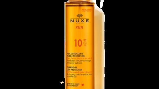 Nuxe Sun Tanning Oil SPF 10 150ml
