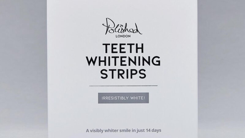Polished London Teeth Whitening Strips. Irresistibly White.