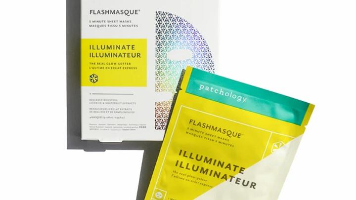 Patchology Flashmasque Illuminate 5 Minute Sheet Masque