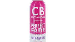 Cocoa Brown Perfect Fade Self Tan Oil Vegan Medium 150ml