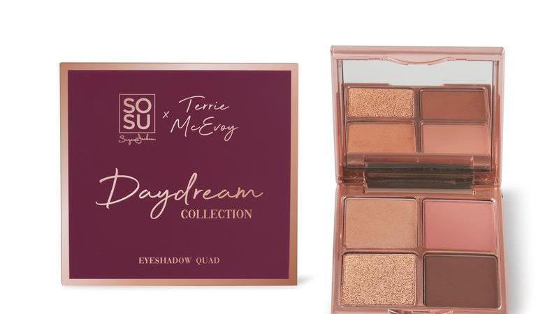 SoSu X Terri McEvoy Daydream Collection Eyeshadow Quad