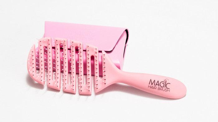 Magic Hairbrush Pink