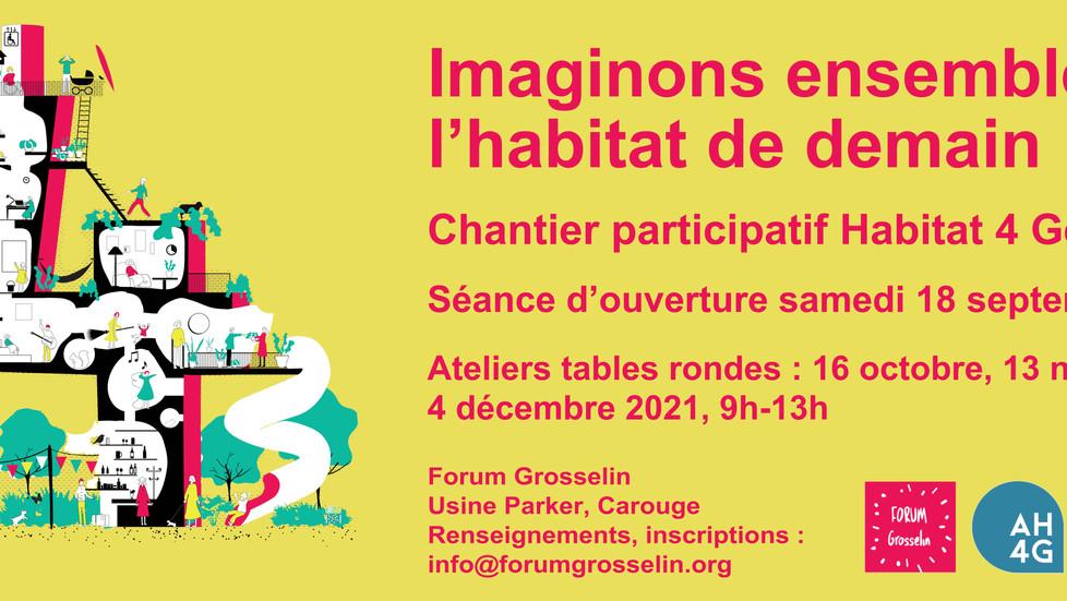 Chantier participatif Habitat pour 4 Générations