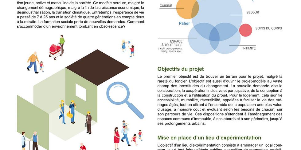 """Chantier participatif """"habitat évolutif intergénérationnel"""""""