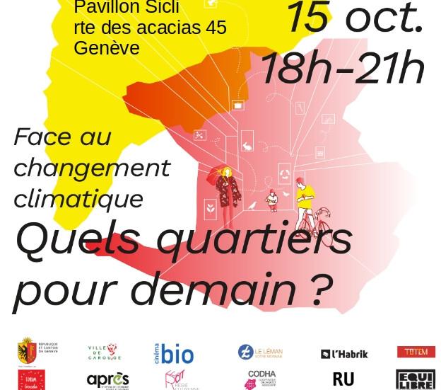 """Lancement du chantier participatif """"Activités"""" : 15 octobre 2021, de 18h à 21h"""