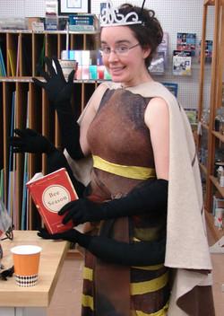 Queen Bee for Halloween