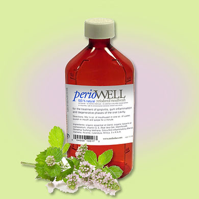PerioWell natural Mouthwash, PerioWell natural Toothpaste