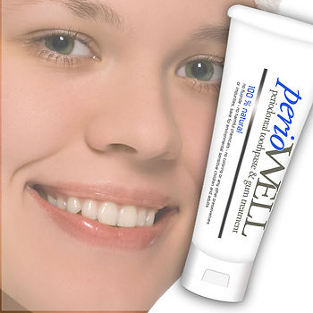 PerioWell natural homeopathic toothpaste