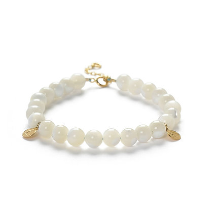 The Alkemistry 18ct yellow gold Mother of Pearl Cinta bracelet