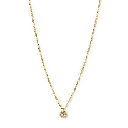The Alkemistry 18ct gold and rose cut diamond necklace