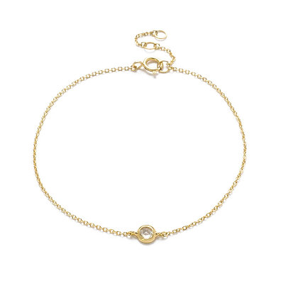 The Alkemistry 18ct yellow gold and rose cut diamond bracelet