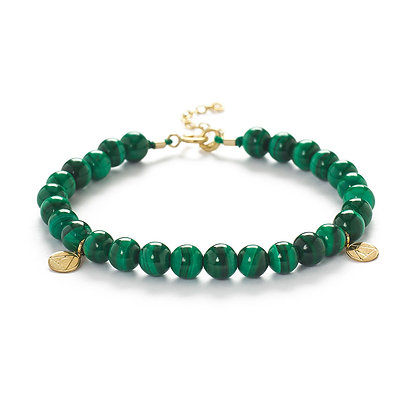 The Alkemistry 18ct yellow gold Malachite Cinta bracelet