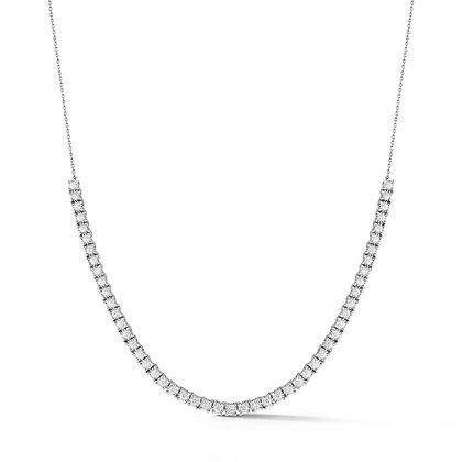 Dana Rebecca 14ct white gold Ava Bea diamond tennis necklace