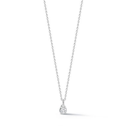 Dana Rebecca 14ct white gold Sophia Ryan petite teardrop necklace