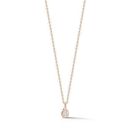 Dana Rebecca 14ct rose gold Sophia Ryan petite teardrop necklace