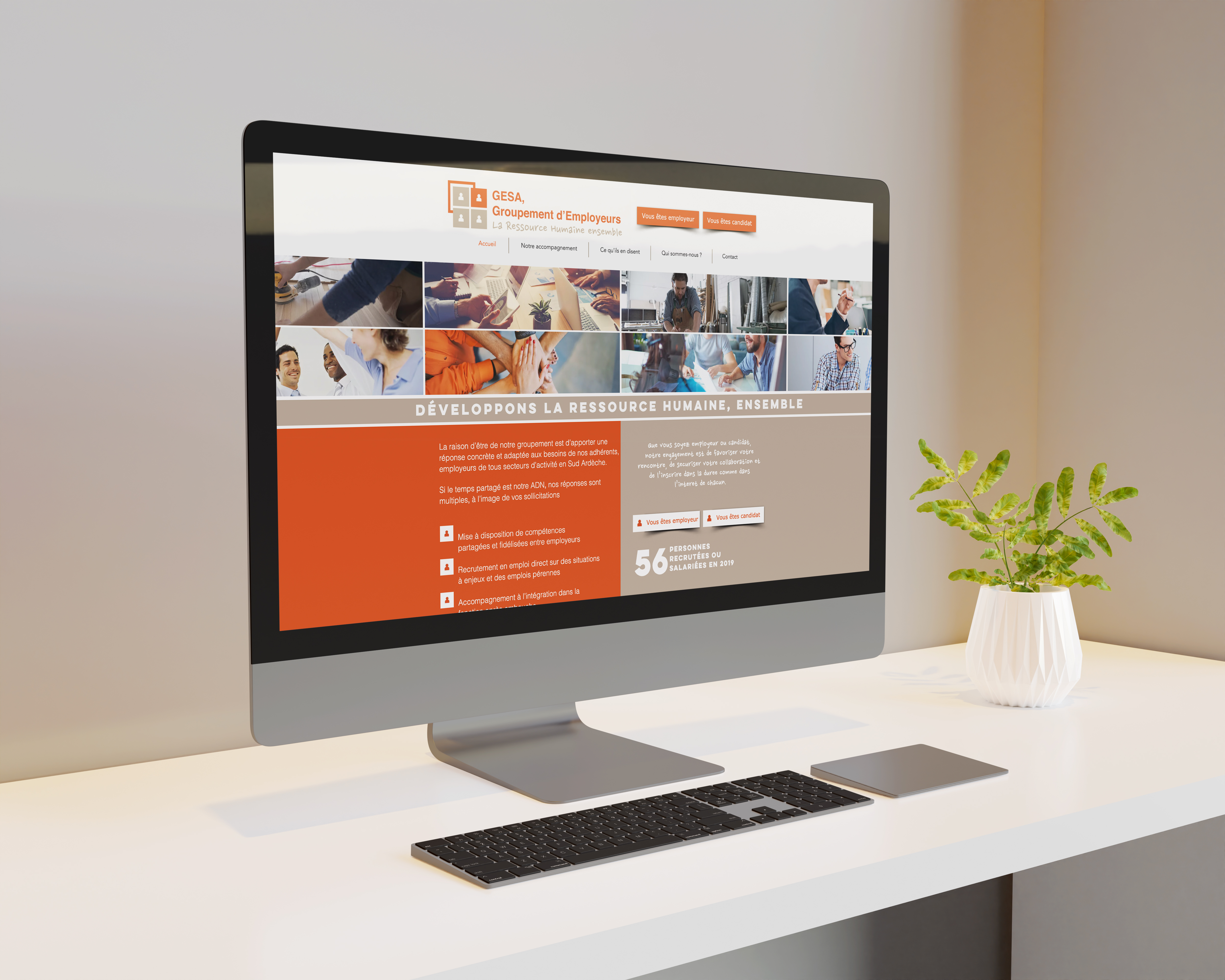 Site web Gesa