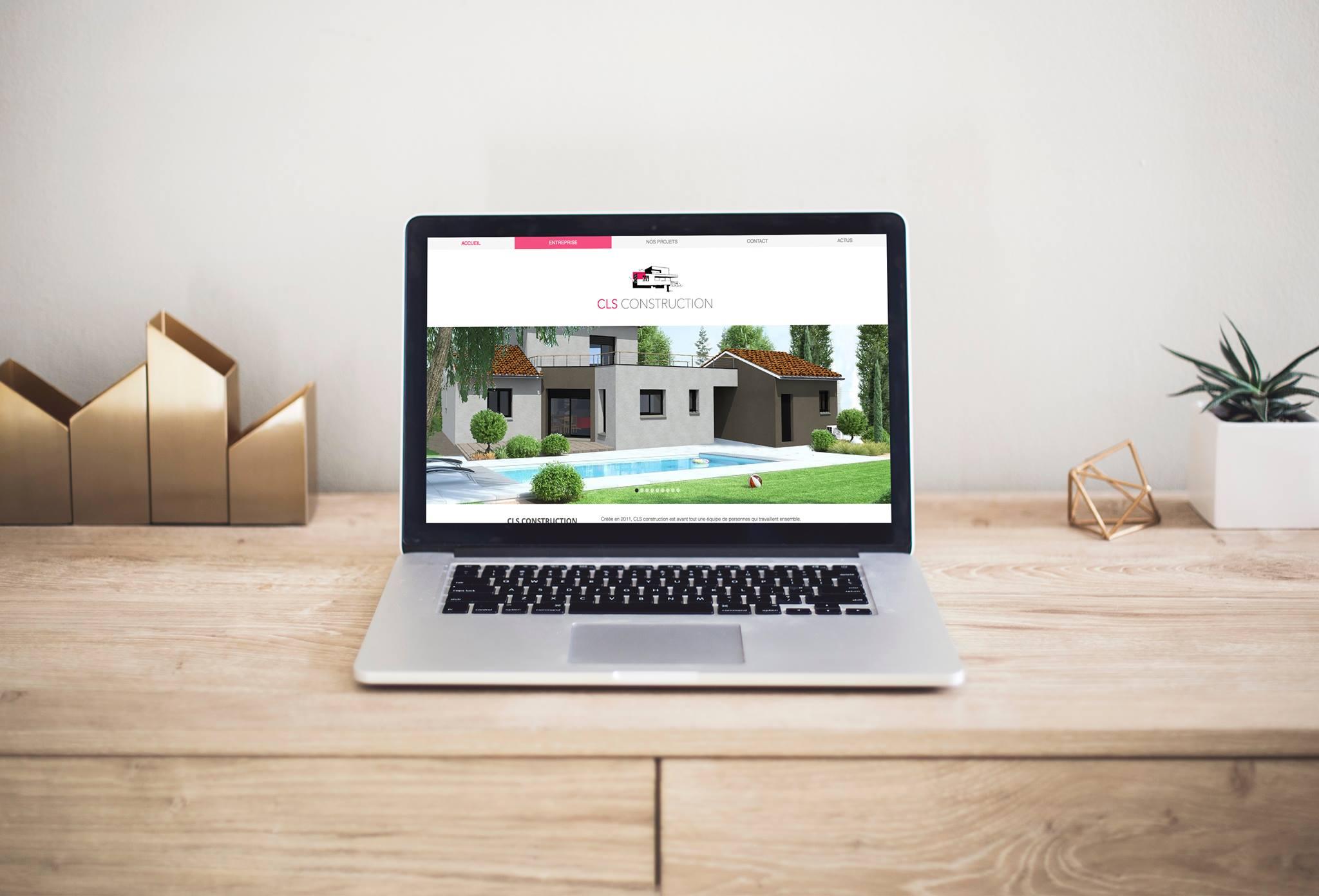 Création du site web CLS Constructio