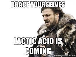 Lactic Acid is BAD