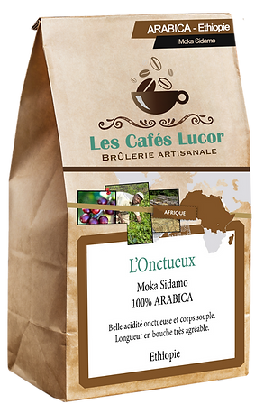 Café arabica Ethiopie - L'Onctueux