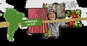 Carte Amérique du Sud - Les Cafés Lucor