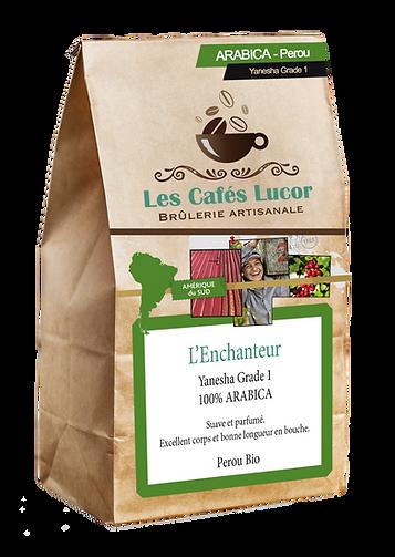 Café arabica Perou Bio - L'Enchanteur
