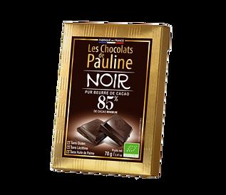 Chocolat noir 85% de cacao