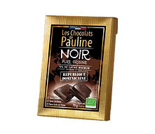 Tablette chocolat noir pure origine - République Dominicaine