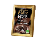 Tablette de chocolat pure origine Les Chocolats de Pauline