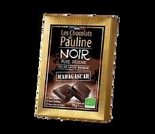 Tablette chocolat noir Madagascar - Les Chocolats de Pauline