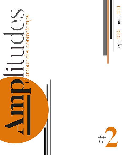 Revue Amplitudes, numéro 2 — sept. 2020 – mars 2021