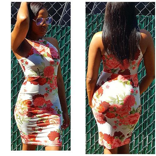 🌺 Mesh Rose Dress 🌺