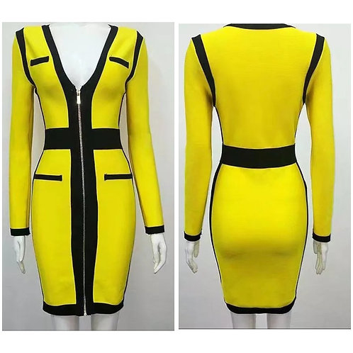 Queen Bee Bandage Dress
