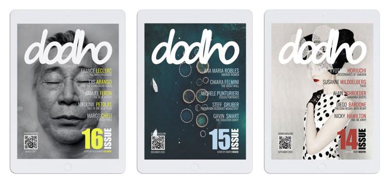 Dodho Magazine: téléchargez gratuitement la version digitale de leurs éditions
