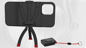 JOBY StandPoint Impulse Kit: enfin une coque smartphone avec trépied intégré solide