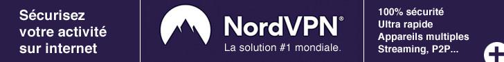 NordVPN - Sécurisez votre activité sur internet avec la solution N°1 mondiale
