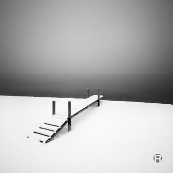 Lac Léman - Neige