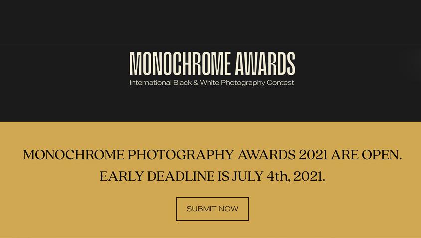 Monochrome Awards: le concours 2021 est lancé