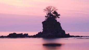 Japon: photographier le rocher de Amaharashi à Takaoka