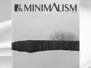 Le magazine Black & White Minimalism vient de publier son 28ème numéro