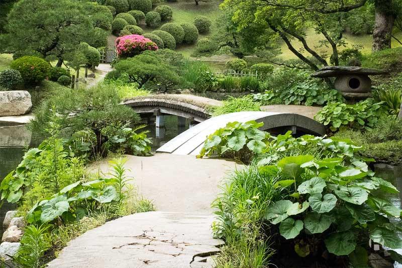 Japon: Jardin Shukkei-en à Hiroshima - Olivier Robert
