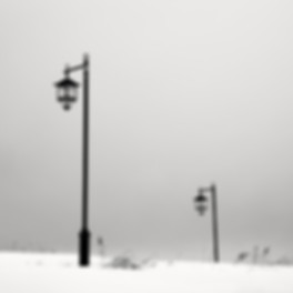 Olivier Robert Photography - Japan Hokkaido Winter - Fine Art black and White